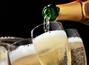 Every Bon Vivant Loves A Glass Of Sparkling Wine